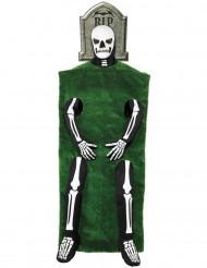 Costume scheletro lapide adulto