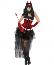 Costume diva infernale Halloween