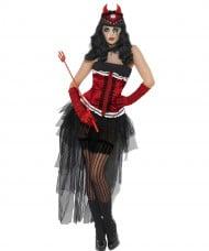 Costume diva infernale Halloween