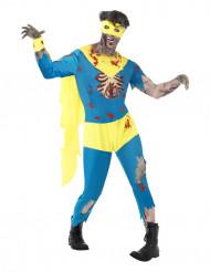 Costume supereroe zombie uomo Halloween