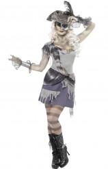 Costume pirata fantasma donna Halloween