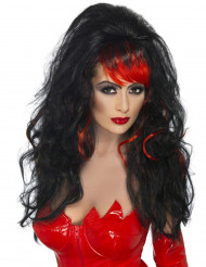 Parrucca diavolessa donna Halloween