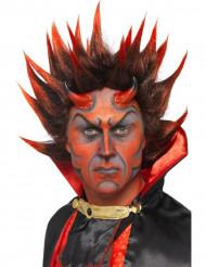Parrucca demone Halloween adulto