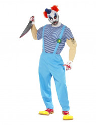 Costume clown assassino adulti Halloween