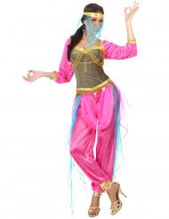 Costume danzatrice orientale rosa adulto