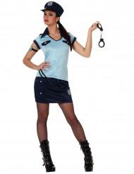 Costume poliziotta sexy adulto