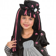 Parrucca Black Dolly bambina