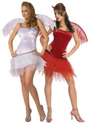 Costume coppia angelo e diavolessa