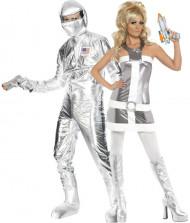 Costume coppia dello spazio