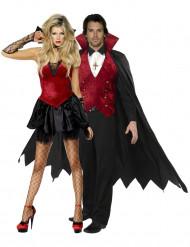 Costume coppia di vampiri di Halloween