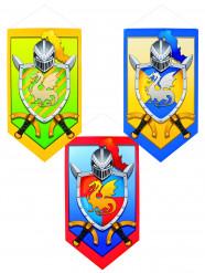 Decorazione cavaliere medievale