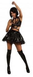 Costume Rihanna™ adulto nero per donna