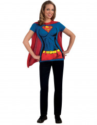 Costume Supergirl™ adulto t-shirt
