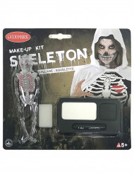 Image of Kit trucco scheletro Halloween