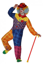 Costume clown adulti uomo