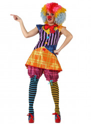 Costume clown adulti donna