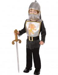 Costume cavaliere medievale bambino in armatura