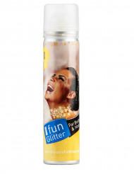 Spray per capelli e corpo di colore oro
