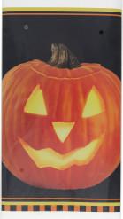 Tovaglia di plastica zucca Halloween