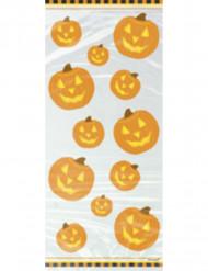 20 sacchetti di plastica zucca Halloween