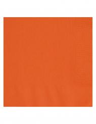 20 tovaglioli di carta arancioni