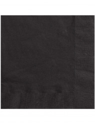 20 tovaglioli di carta neri