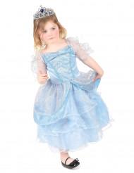 Costume principessa in azzurro bambina