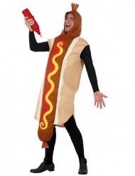 Costume hot dog XL adulto