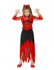 Costume diavolessa bambina Halloween