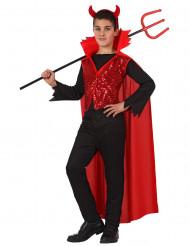 Costume diavolo elegante bambino