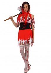 Costume cappuccetto rosso adulto donna