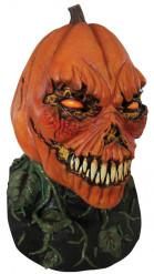 Maschera zucca spaventosa Halloween