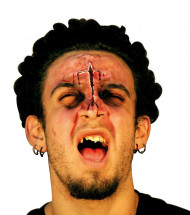 Finta piaga viso adulto Halloween