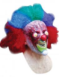 Maschera clown sanguinante adulto Halloween