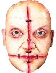 Image of Maschera donna killer con cicatrice adulto Halloween