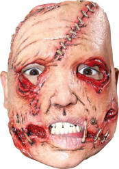 Maschera killer volto sfigurato adulto Halloween