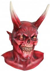 Maschera demone rosso adulto Halloween