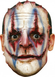 Maschera killer clown adulto Halloween
