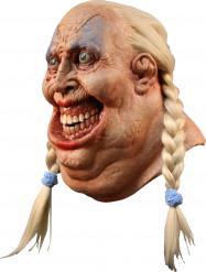 Maschera donna spaventosa adulto Halloween