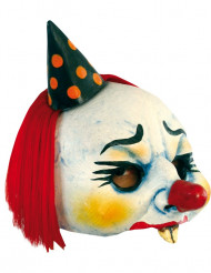 Maschera clown malefico adulti Halloween