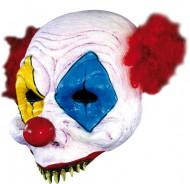 Maschera clown spaventoso adulti Halloween