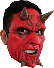 Maschera demone pazzo adulti Halloween