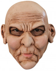 Maschera viso scontento adulti Halloween