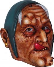 Maschera vecchia strega adulti Halloween
