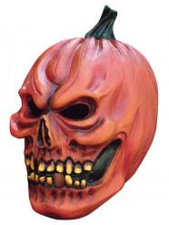 Maschera zucca terrificante adulti Halloween