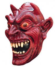 Maschera demone rosso adulti Halloween