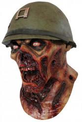Maschera soldato zombie adulti Halloween