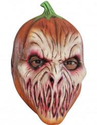 Maschera zucca spaventosa Halloween per adulti