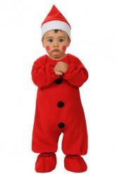 Costume Babbo Natale neonato