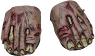 Soprascarpe zombie adulti Halloween
